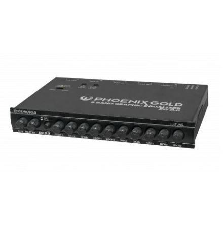 PG 9 Band graphic equalizer With TrueTUNE technology