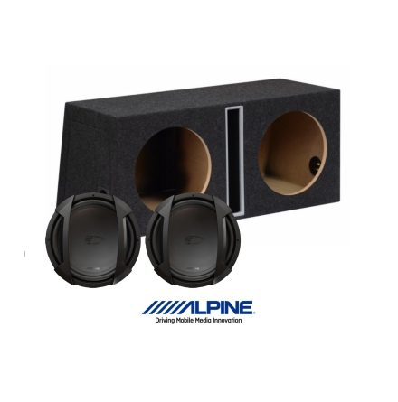 "Alpine Type-E baspaket 2x12"""