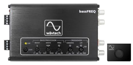 Wavtech Bass Processor w/Parametric EQ
