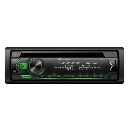 Pioneer DEH-S120UBG 4x50W,MP3,AUX,USB,Grön knapbelysning