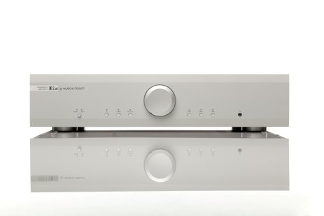 Silver-Integrated amplifier 2x72W
