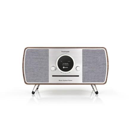 Music System Home ART - Valnöt/Grå