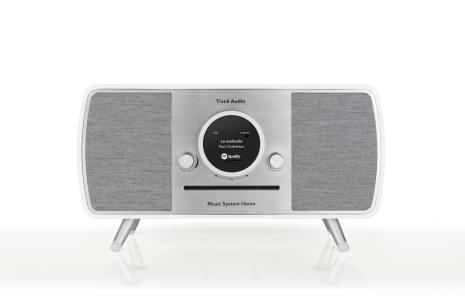 Music System Home ART - Vit/Grå