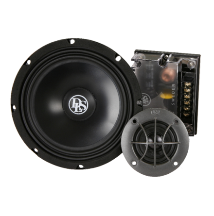 RZ6.2Q, 2-way kit 6.5in w 2 in tw w cups