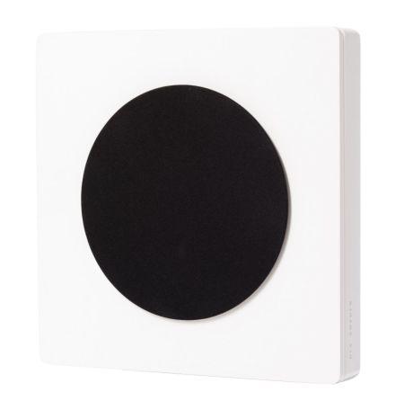 D-One design wall speaker, white high gloss, pair