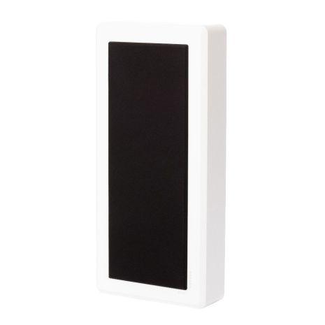 M-One, wall hifi speaker, white satin, pair