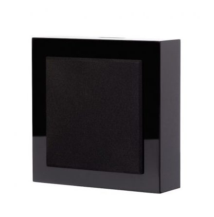 Flatbox MINI -V3 wall speaker black piano, pair