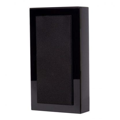 Flatbox MIDI V2, wall speaker, black piano, pair