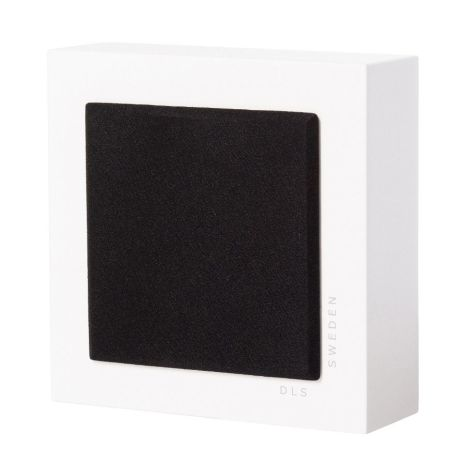 Flatbox Slim Mini, wall speaker white, pair