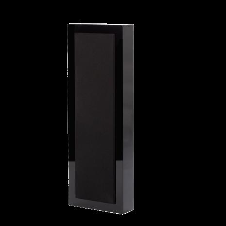 Flatbox XL, wall speaker black piano, pair