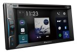 Pioneer 2DIN CD/DVD, 1 USB/iPod 6,2