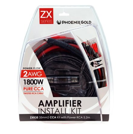 Kampanj! 35mm2 CCA kit with power RCA 5,2m