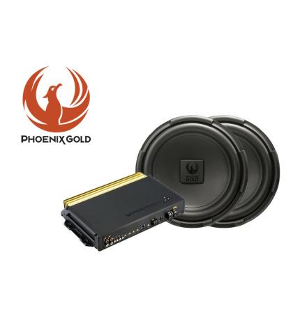 Phoenix Gold's RX 2x12tum Baspaket med SX26001 steg